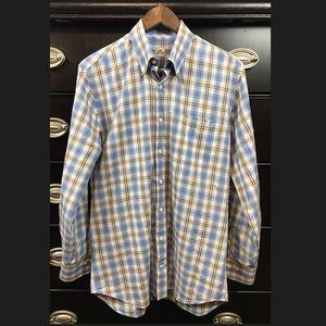 Peter Millar Mens Button Down Casual/Dress Shirt